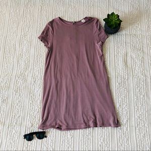 Dresses & Skirts - Mauve Dress w/ Zip Back